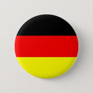 Badge Rond 5 Cm Bouton allemand de drapeau
