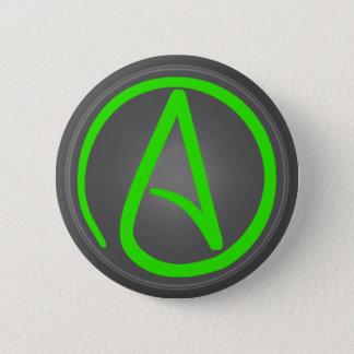 Badge Rond 5 Cm Bouton athée de symbole