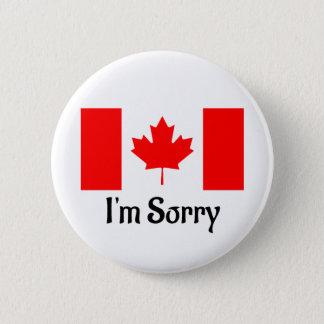 Badge Rond 5 Cm Bouton canadien de fierté