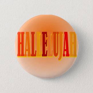 Badge Rond 5 Cm Bouton d'alléluia
