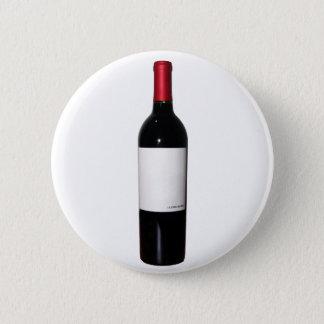 Badge Rond 5 Cm Bouton de bouteille de vin (étiquette vide)