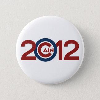 Badge Rond 5 Cm Bouton de campagne de Caïn 2012