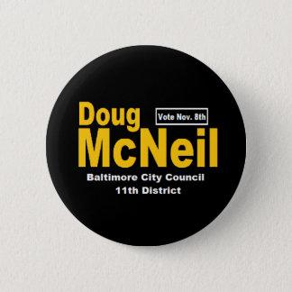 Badge Rond 5 Cm Bouton de Doug McNeil