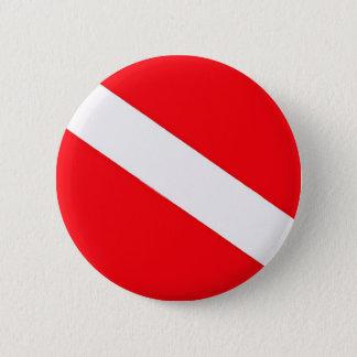 Badge Rond 5 Cm Bouton de drapeau de piqué