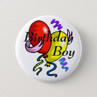 Badge Rond 5 Cm Bouton de garçon d'anniversaire