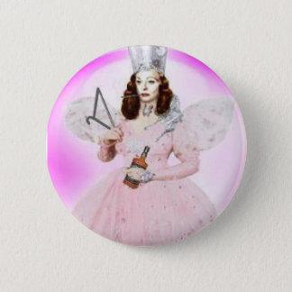 Badge Rond 5 Cm Bouton de Glinda