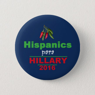 Badge Rond 5 Cm Bouton de Hillary 2016