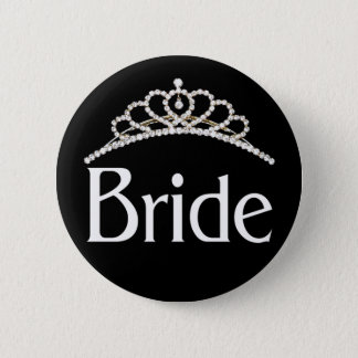 Badge Rond 5 Cm Bouton de jeune mariée