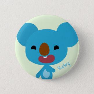 Badge Rond 5 Cm Bouton de koala de Qkids Koby