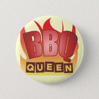 Badge Rond 5 Cm Bouton de la Reine de BBQ