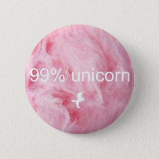 Badge Rond 5 Cm Bouton de licorne de 99% !