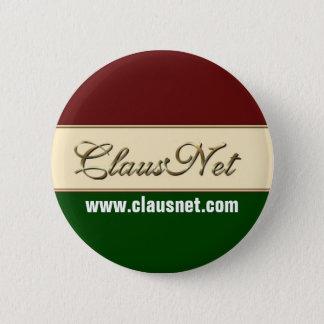 Badge Rond 5 Cm Bouton de membre de ClausNet, www.clausnet.com