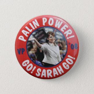 Badge Rond 5 Cm Bouton de puissance de Palin