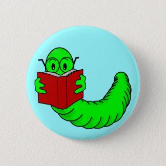 Badge Rond 5 Cm Bouton de rat de bibliothèque