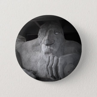 Badge Rond 5 Cm Bouton de Seattle Fremont Troll
