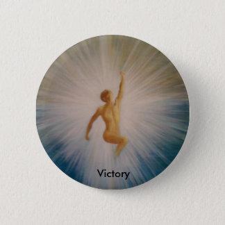 Badge Rond 5 Cm Bouton de victoire