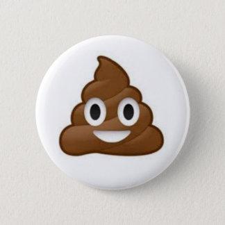 Badge Rond 5 Cm Bouton d'Emoji de dunette