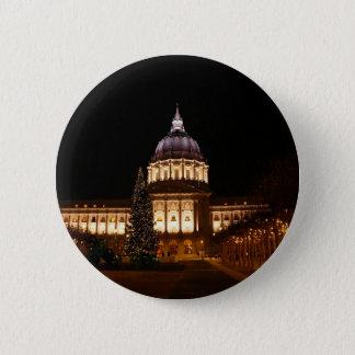 Badge Rond 5 Cm Bouton d'hôtel de ville de San Francisco #2