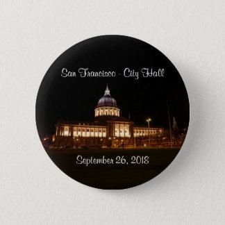 Badge Rond 5 Cm Bouton d'hôtel de ville de San Francisco #3