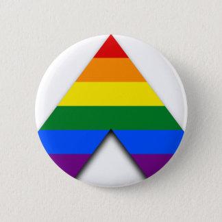 Badge Rond 5 Cm Bouton droit d'allié de LGBT