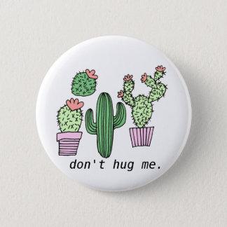 Badge Rond 5 Cm Bouton drôle mignon de cactus