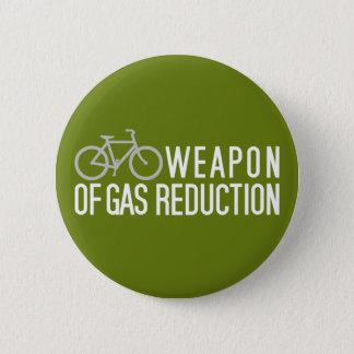 Badge Rond 5 Cm Bouton fait sur commande de couleur de bicyclette