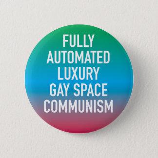 Badge Rond 5 Cm Bouton gai de luxe entièrement automatisé de
