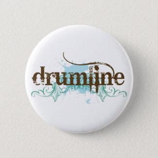Badge Rond 5 Cm Bouton grunge frais de Drumline