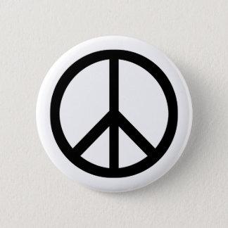 Badge Rond 5 Cm Bouton (lourd) de symbole de paix