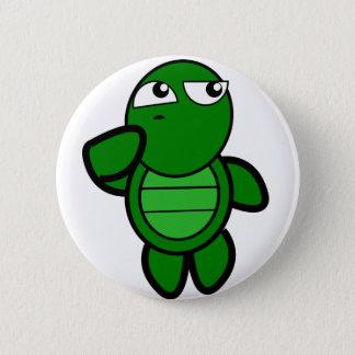 Badge Rond 5 Cm bouton mignon de tortue