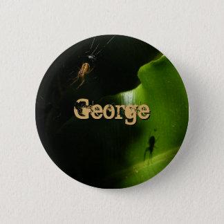 Badge Rond 5 Cm Bouton minuscule de nom d'araignée