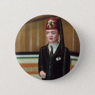 Badge Rond 5 Cm Bouton minuscule de Shriner