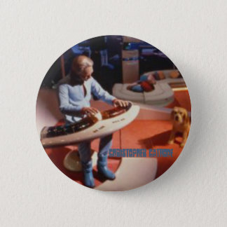 Badge Rond 5 Cm Bouton musical de cathode de papa d'horizons