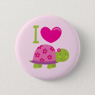 Badge Rond 5 Cm Bouton personnalisé par tortue mignonne pour des