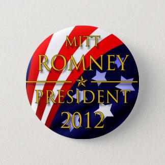 Badge Rond 5 Cm Bouton présidentiel de Mitt Romney 2012
