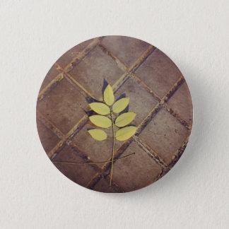 Badge Rond 5 Cm Bouton rond de feuille
