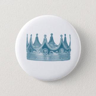 Badge Rond 5 Cm Bouton royal de couronne de bébé