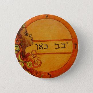 Badge Rond 5 Cm Bouton sacré de joint de Chakra Solomon