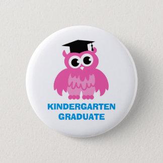 Badge Rond 5 Cm Boutons d'obtention du diplôme de jardin d'enfants