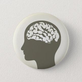 Badge Rond 5 Cm Brain5
