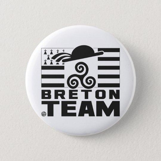 BADGE ROND 5 CM BRETON TEAM 3