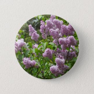 Badge Rond 5 Cm Bush lilas
