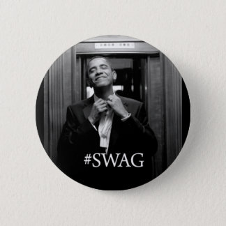 Badge Rond 5 Cm Butin d'Obama