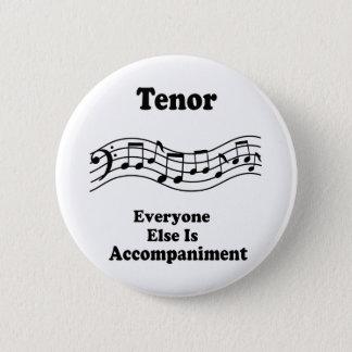 Badge Rond 5 Cm Cadeau de chanteur de tenor