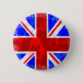 Badge Rond 5 Cm Camo Union Jack