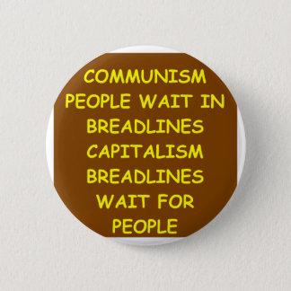 Badge Rond 5 Cm capitalisme