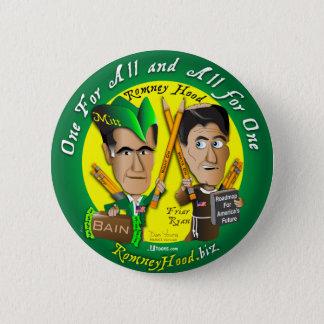 Badge Rond 5 Cm Capot tout de Romney pour un