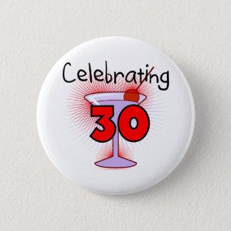 Badge Rond 5 Cm Célébration de 30 T-shirts et cadeaux