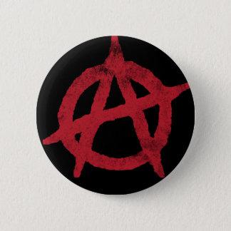 Badge Rond 5 Cm Cercle A d'anarchie