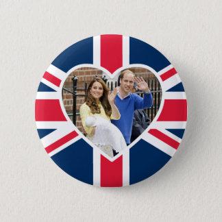 Badge Rond 5 Cm Charlotte Elizabeth Diana - les Anglais veulent